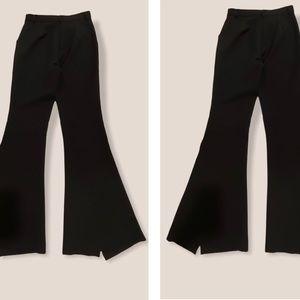 LAST CHANCE Essue Black Wide Leg Pants Size S